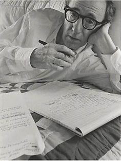 Arnold Newman     Woody Allen, New York City      1996