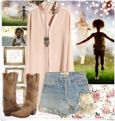 """""""The beast of the southern wild."""" by shellebelle ❤ liked on Polyvore"""