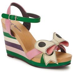Wedge sandals by Lola Ramona