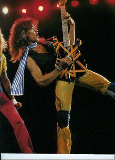 """""""Edward Van Halen Live !"""""""