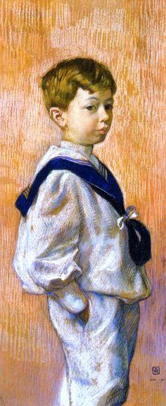 Antoine Braun   Theo van Rysselberghe   oil painting