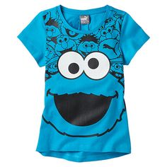 <p>Your kiddo can sport her favorite characters and your favorite brand all at once. PUMA and Sesame Street® come together to create a fun, colorful graphic tee that is sure to have her standing out at the playground.</p><p>Features</p><ul><li>100% Cotton</li><li>Crew neck</li><li>Center front Sesame Street® graphic</li></ul>
