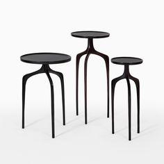 Bridger Cast Bronze Tables - CASTE Design