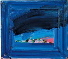 Paintings · Artworks · Howard Hodgkin · Page 14 Tachisme, Richard Diebenkorn, Action Painting, Jackson Pollock, Abstract Painters, Abstract Art, Patrick Heron, Howard Hodgkin, Contemporary Sculpture