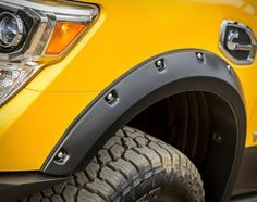 """This beastly four-wheel-drive camper is designed to weather the apocalypse in style. Affectionately dubbed the Rule Breaker,"""" this trail-ready Nissan was developed by Hellwig Suspension Products in association with Lance Camper. The off-road behemot Slide In Truck Campers, Truck Bed Camper, Cool Campers, Truck Camping, Camper Van, Nissan Titan Xd Diesel, Nissan Titan Truck, 2016 Nissan Titan Xd, Lance Campers"""