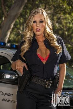 Samantha Saint in Wicked Pictures 'Busty Cops'