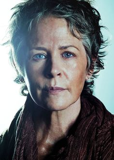Carol Peletier <3 New cast promotional photos for The Walking Dead, which returns on Sunday, February 8 with its midseason premiere, What Happened and What's Going On.