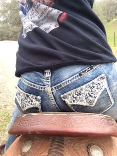Rock N Roll Cowgirl lace jeans ❤️