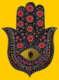 hamza hand | hamza hand. pen, ink, watercolour, photoStudio, 2010