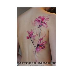 78 Beautifully Artistic Watercolor Tattoos ❤ liked on Polyvore featuring accessories and body art