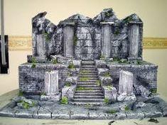 Reptile Terrarium, Game Terrain, Scenic Design, Dungeons And Dragons, Reptiles, Mount Rushmore, Nest, Modeling, Buildings