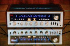 audio Kenwood hi fi stereo - Ralf Fritzsche -Vintage audio Kenwood hi fi stereo - Ralf Fritzsche - Marantz 4300 Quadrophonic Receiver Hifi Stereo, Hifi Audio, Kenwood Hifi, Speaker Amplifier, Speakers, Electronics Companies, Vanz, Audio Room, Home