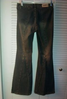 Candie's Jeans, Bell Bottom, Denim, Wide leg, Low rise, Size 3 29 $19.99 + Free Shipping