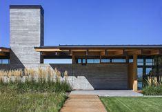 amazing Exterior Decor Ideas Hood river house by Scott Edwards Architects. Design Exterior, Modern Exterior, Interior And Exterior, Residential Architecture, Architecture Design, River House, Story House, New Homes, House Design