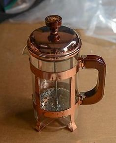FRENCH PRESS COFFEE MAKERS | Copper-French-Press-Coffee-Maker-Starbucks-Limited-Edition-Bodum ...