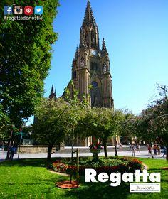 Si estás por el #BuenPastor de #Donostia #SanSebastian recuerda que tienes el menú del #regattaDonostia bien cerca c/Hondarribia 20