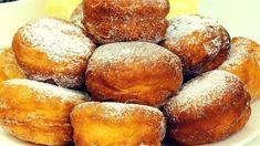Nie trzeba czekać aż ciasto się podniesie. Bujne pączki za 15 minut! | Smaczny.TV - YouTube Nutella, Pretzel Bites, Biscotti, Cornbread, Puddings, Appetizers, Pie, Restaurant, Cookies