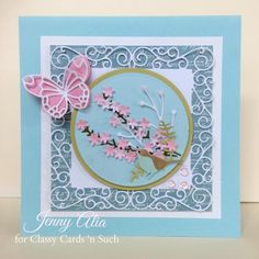 Cherry Blossoms by JennyAlia - Cards and Paper Crafts at Splitcoaststampers