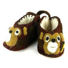 Monkey Zooties Baby Booties