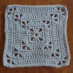 $1.99 - Lacy Corners Granny Square - A Crochet pattern from jpfun.com