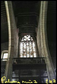 Zamora. Iglesia de San Juan Bautista. Ventana. Zamora Church of san Juan Bautista window