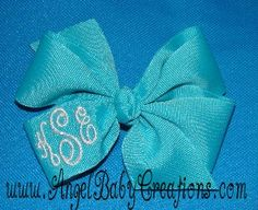 Free Giveaway: Custom Monogrammed Hairbow   Enter Here: http://www.giveawaytab.com/mob.php?pageid=123428717696109