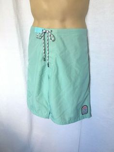 e054fdeda4 Details about Kanvas by Katin Surf Swim Trunks boardshorts size 38 Made in  the USA Green