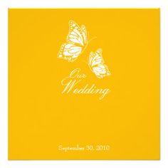 Einfache gelbe Schmetterlinge die Mitteilung 2