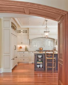 These are residential kitchens custom designed by Venegas and Company.