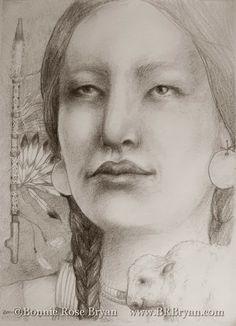 White Buffalo Calf Woman / art by Bonnie Rose Bryan Native Art, Native American Indians, Native Americans, Coloring Books, Coloring Pages, Indian Artwork, The Bonnie, Medicine Wheel, Female Art
