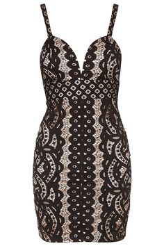 **Contrast Bustier Mini by Rare