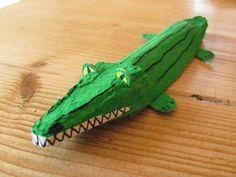 Mr Crocodile rolls up to the Zoo