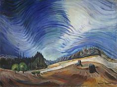 Emily Carr,  Above the Gravel Pit Fine Art Reproduction Oil Painting