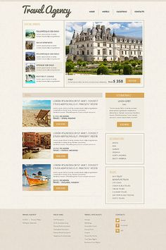 Responsive JavaScript Animated #template // Regular price: $69 // Unique price: $4100 // Sources available: .HTML,  .PSD #Travel #Responsive #smartphone #tablet #TravelAgency