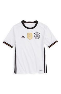 adidas  UEFA EURO 2016™ - Germany  Replica Soccer Jersey (Big Boys) 81a504b85f120