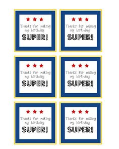 Free downloadable favor tags