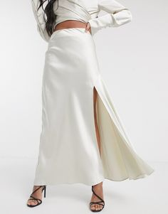Order Significant Other lucine satin maxi skirt with slit online today at ASOS for fast delivery, multiple payment options and hassle-free returns (Ts&Cs apply). Get the latest trends with ASOS. Maternity Maxi Skirts, Beach Maxi Skirt, Maxi Skirt With Slit, Tube Skirt, Printed Maxi Skirts, Pleated Maxi, High Waisted Skirt, Miss Selfridge Petite, Asos
