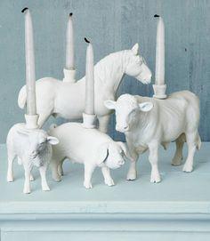 Reciclar juguetes: animales porta velas