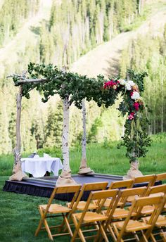 Yes to this grand, lush arbor // Brinton Studios