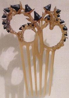 Lalique cactus comb