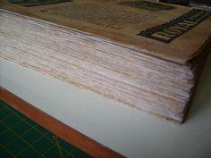 restauração de livros
