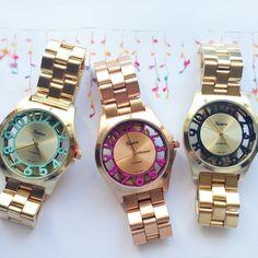 Relojes Geneva numeros al aire de www.misscaracola.com