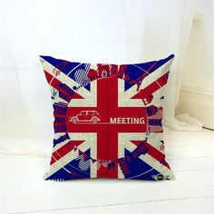 London Themed Pillow Cases