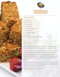 Healthy Dessert Recipes, Brunch Recipes, Sweet Recipes, Baking Recipes, Cookie Recipes, Desserts, South African Recipes, Biscuit Recipe, Biscuit Cookies