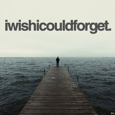 I wish I could forget you and every memory... but that would be just impossible