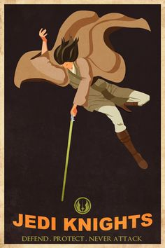 Our regular readers probably know by now that I like Star Wars posters done in a particular art style. Today I've come across a couple sweet Star Wars posters by artist Steve Thomas [via Super Punch]. Star Wars Jedi, Star Wars Art, Steve Thomas, Jedi Knight, The Force Is Strong, Star Wars Poster, Travel Posters, Vintage Posters, Retro Posters