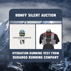 Get a hydration running vest from Durango Running Company at the #BMFF silent auction tomorrow!
