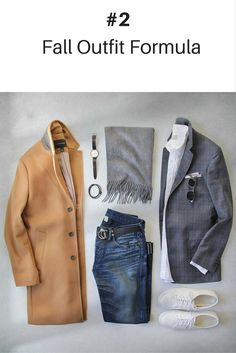 10 Coolest Outfit Formulas You Can Wear This Fall. #mens #fashion #style
