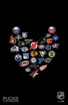 Love, hockey.