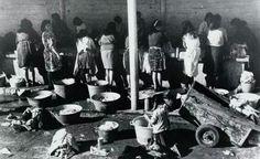 Lavaderos Montjuïc any 60